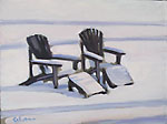Chairs in Snow I