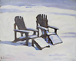Chairs in Snow II