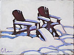Chairs on Snow III