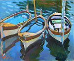 Three Boats, La Darse
